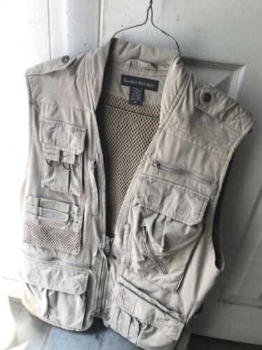 Lot: Vintage Banana Republic Taille M Fly Fishing Vest   $200 Orvis Accessoires