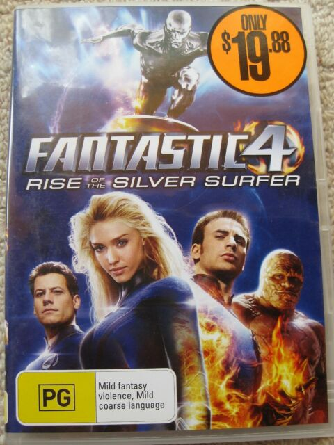 FANTASTIC 4 - Rise Of The Silver Surfer (DVD)
