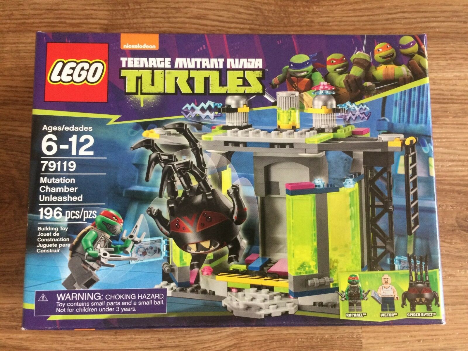 LEGO 79119 Teenage Mutant Ninja Turtles Mutation Chamber Unleashed Brand New