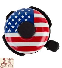 American Flag Stars and Stripes USA Bicycle Bell