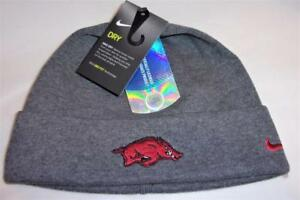 dd1315afbe6 New Arkansas Razorbacks Nike Dri-Fit Training Cuffed Beanie Hat MSP ...