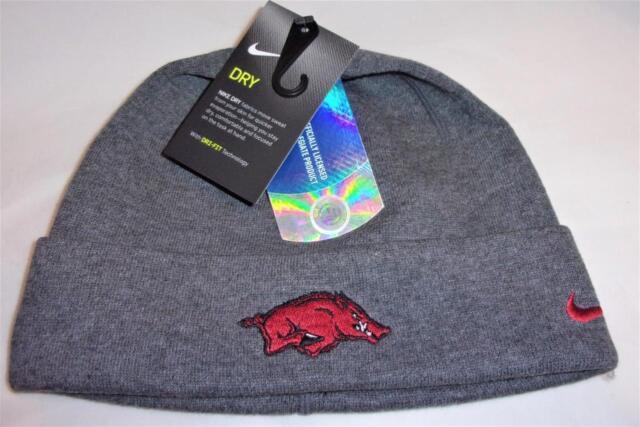 New Arkansas Razorbacks Nike Dri-Fit Training Cuffed Beanie Hat MSP  30    S143 c5ee0d6414d