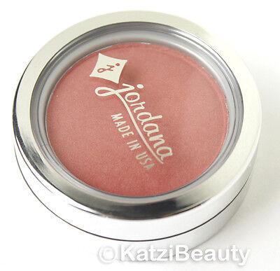 Jordana Powder Blush -BP-38 Coral Sandy Beach-Gold Toned Peach Pink (pearl)