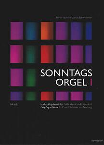 Kirchenorgel-Orgel-Noten-Sonntagsorgel-Band-1-leichte-Mittelstufe-BA9287