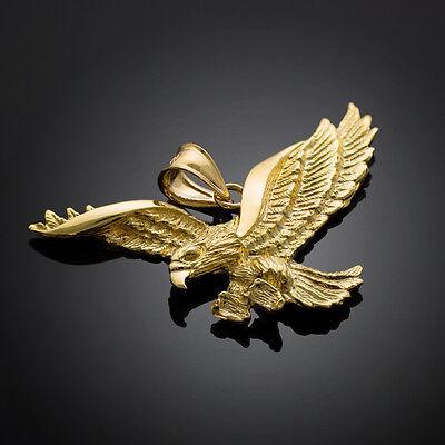 Gold Flying Eagle Pendant