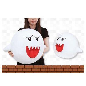Nuevo-Super-Mario-Bros-Rey-Boo-Oficial-Super-gran-Felpa-17-7-034-45cm-Taito