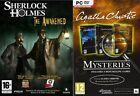 Sherlock Holmes The Awakened Remastered & agatha christie trilogy new&sealed
