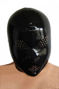 Small-SlickRubber-LATEX-HOOD-MASK-CHLORINATED-NO-LUBE-NEEDED-EVER