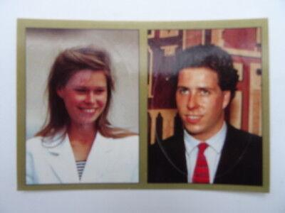 Panini The Royal Family 1988 Viscount Linley /& Lady Sarah Armstrong-Jones No.66