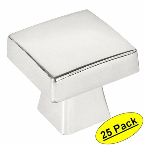 *25 Pack* Cosmas Cabinet Hardware Polished Chrome Contemporary Knobs #5233CH