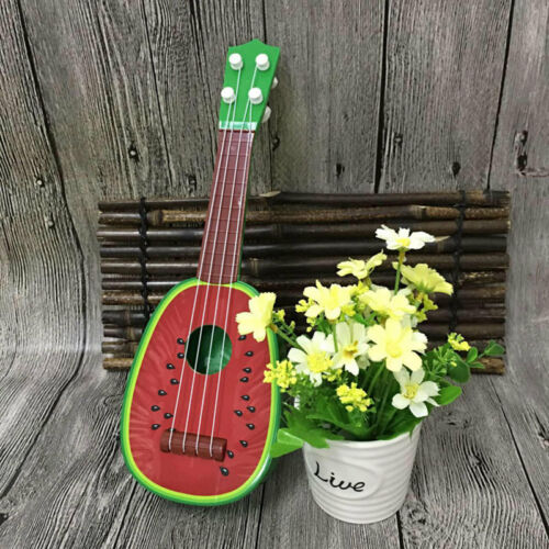 55D6 5177 Kids Fruit Ukulele Uke 4 Strings Small Instrument Educational Toy 2018