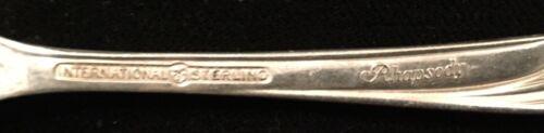 International Rhapsody New Regular Fork Sterling Silver Flatware