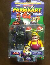 ** Rare** NEW Nintendo 2000 Toy Biz N64 Mario Kart 64 Wario Action Figure