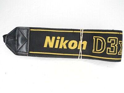 Nikon D3X Genuine DSLR AN-D3X Camera Neck Strap Shoulder Strap Fits SLR