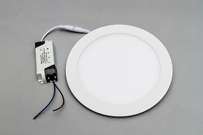 """10 X Led Panel Round 9"""" (22.5cm) 4k Or 6k Limited Stock! Exceptional Value!!!"""