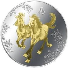 Niue 2014 $2 Feng Shui III - HORSES 1oz Silver Coin LIMIT 5000 ONLY!!!