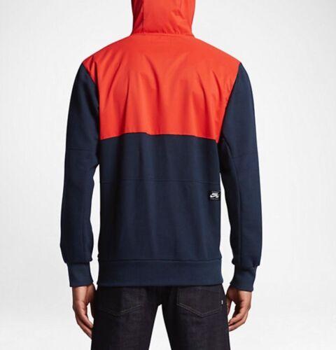 829387 Sm Hoodie Max negro Sb Everett azul Sz Repel Nike naranja Skateboard marino 852 OqavRItqw