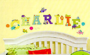 Animal Alphabet Letters Wall Stickers