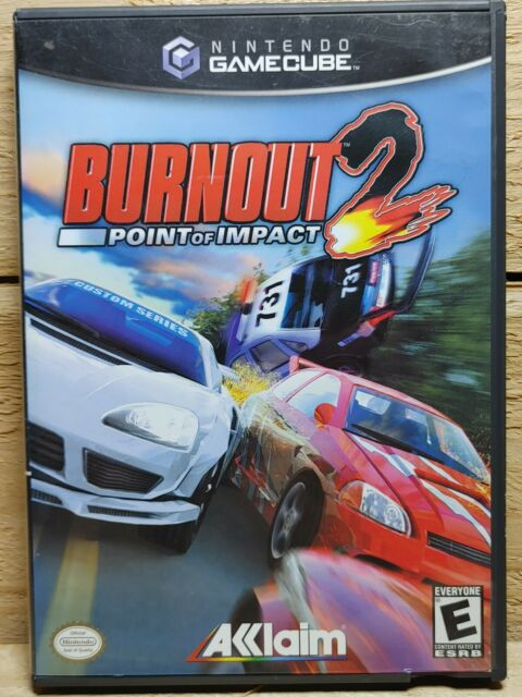 Burnout 2: Point of Impact (Nintendo GameCube, 2003) Video Game CIB Tested