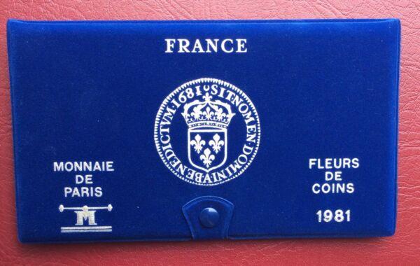 Agressif France - Rare Et Superbe Coffret Fdc 1981