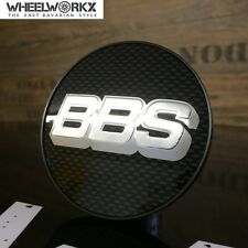 4xOriginal BBS Emblem Felgendeckel Nabenkappen carbon/silber 70,6mm  0924282