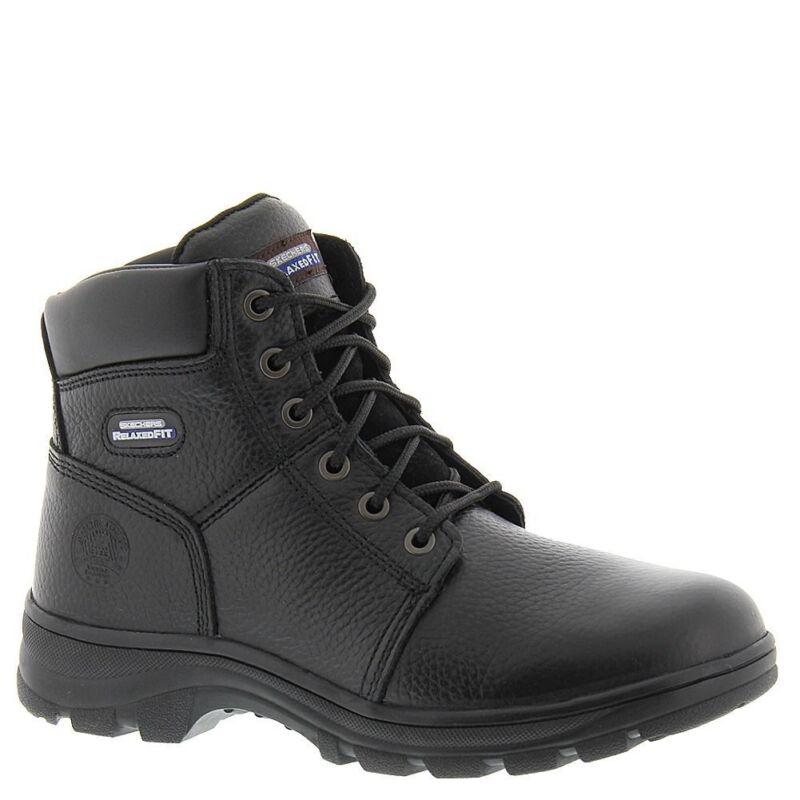 77010 Skechers Black Men's Workshire-condor Work Boots