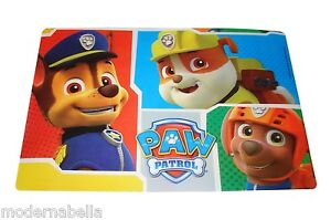 Paw Patrol tovaglia tovaglietta americana colazione plastica,scuol<wbr/>a PLACEMAT