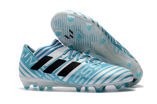 e9cf00f92602 ADIDAS - BY2414 - NEMEZIZ MESSI 17.3 FG -Men s Soccer Shoes -White Blue -