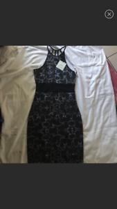 Anthropologie body fitting print dress Größe XS