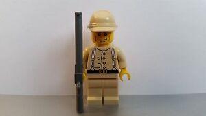 Lego WESTERN AMERICAN CIVIL WAR Tan Union Soldier Minifig Cavalry