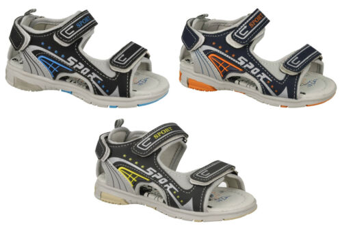 Boys Sports//Summer Sandals with Riptape Fastening  758-2