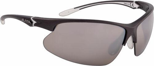 Alpina Erwachsenen Sportbrille Dribs 3.0 ceramic mirror anthracite matt-white