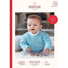 Sirdar Knitting Pattern 2489 Peluche Soft Cute Hérissons Sauvages /& Hayfield Bonus DK