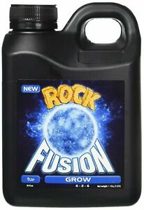 Rock Nutrients GGFGN1L Fusion Grow Base Nutrient, 1 L