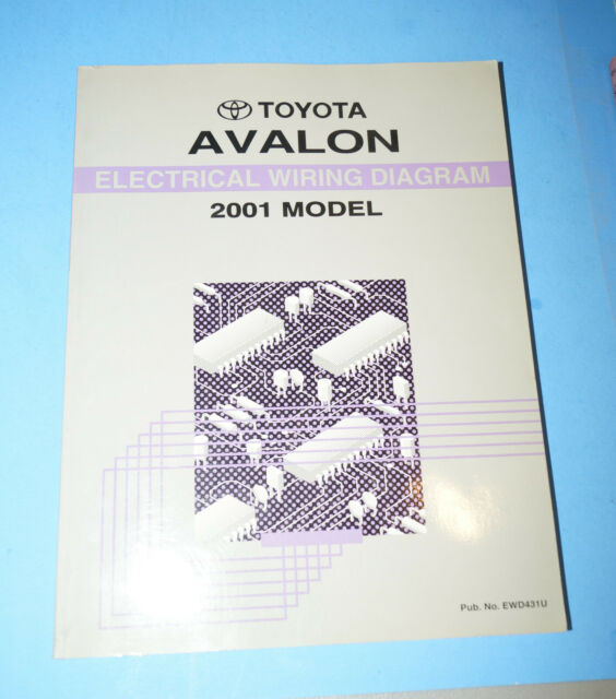 2001 Toyota Avalon Oem Evtm Electrical Wiring Diagram