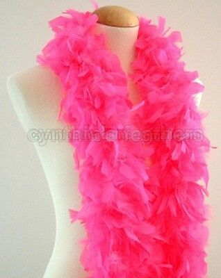 """45g 52""""long Chandelle Feather Boa, Solid Colors  20+ Colors to Pick up From, NEW"""