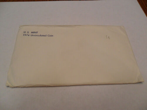 1974 Mint Set Envelope ONLY *NO COINS*  **FREE SHIPPING**