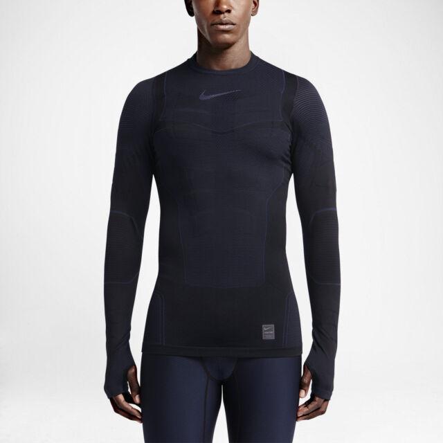 more photos 3256a 6c142 700873-010 New w tag Nike Men pro hyperwarm max Compression long sleeve  shirt