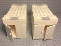 Lego City Modular Flatbed Truck Container Stackable Semi-trailer Storage