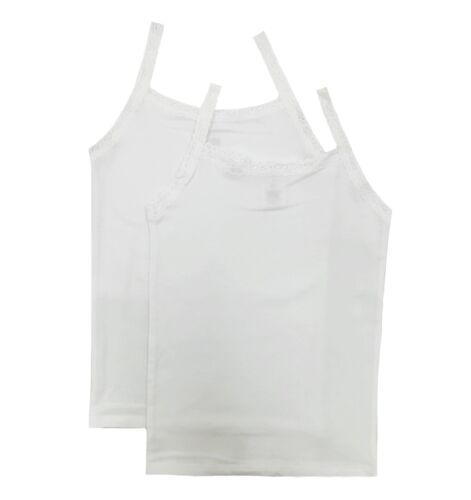 Esme Girls Comfortable camisole cami tank top XS S M L XL white grey black pink