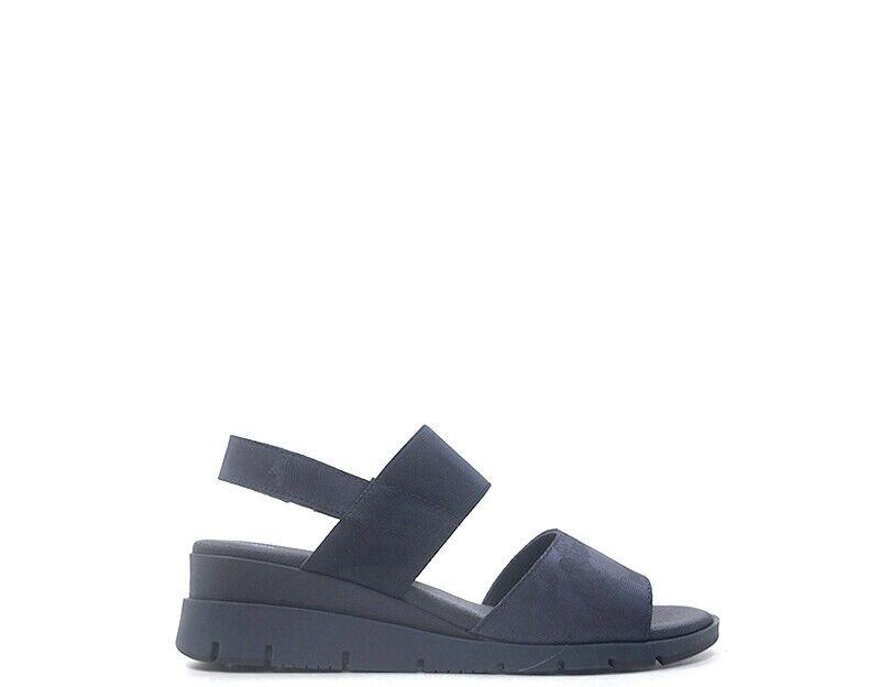 Blau Frau BASIC SAYDO Schuhe Naturleder,Stoff DOWNSHIFT