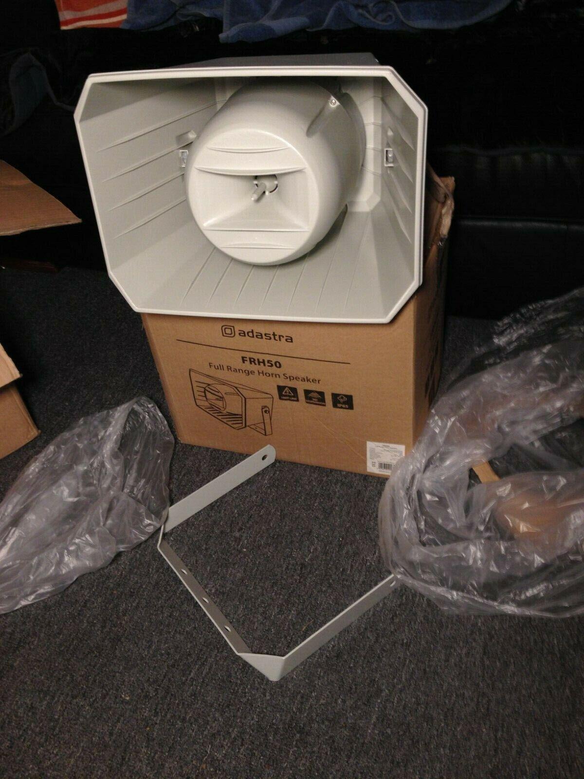 Adastra FRH50 outdoor full range horn PA Public Address Speaker 100V - 6.5