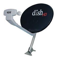 Dish Network 1000.2 w DishPro Plus 129 Triple LNB Integrated LNBF 1000 NEW Black