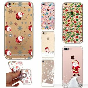 image is loading christmas tree reindeer santa clear phone case iphone