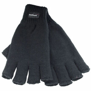 MENS-THERMAL-THINSULATE-KNITTED-FINGERLESS-GLOVES-WINTER-WARM-WOLLY-MITTS-COLD