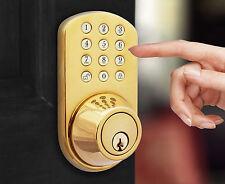 Keyless Door Lock - MiLocks Electronic Touchpad Keypad Entry Deadbolt TF-02P