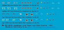 Peddinghaus 2976 1/87 Jagdtiger der s. Pz. Jäg. Abt 512 und Tiger der s. Pz. Abt