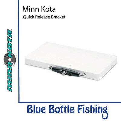NEW MotorGuide Xi5 Quick Release Bracket White from Blue Bottle Marine