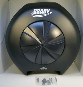 Brady Wall Mounted Toilet Paper Dispenser Silhouette Wausau T80321 3 Roll Tissue Ebay