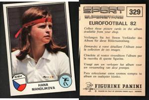 Mandlikova-USA-Eurofootball-82-Sport-Supertsars-Ed-Panini-MINT-n-329-Tennis